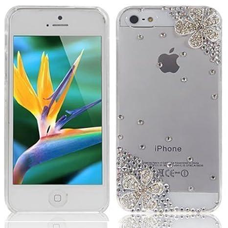 custodia apple iphone 5c con brillantini