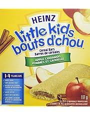 Heinz Little Kids Apple Cinnamon Cereal Bars, 72 Bars (12 Boxes of 6 Bars)