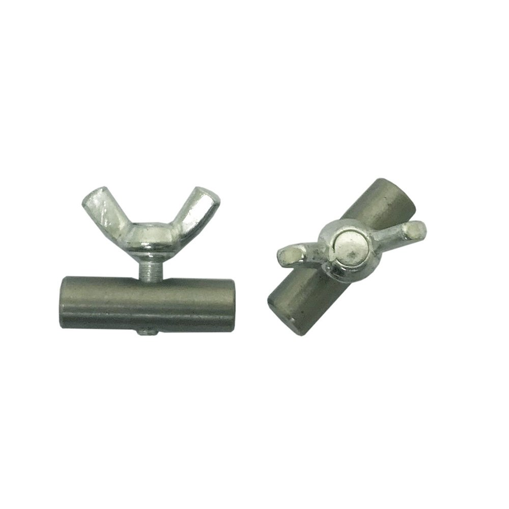 2 pieces Via Mondo 6mm Awning Rail Stoppers