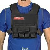 20 Lb. BOX Super Short -Weight Vest (Black)