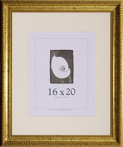 Amazon.com - 16x20 Antique Wood Picture Frame (Gold) - Single Frames