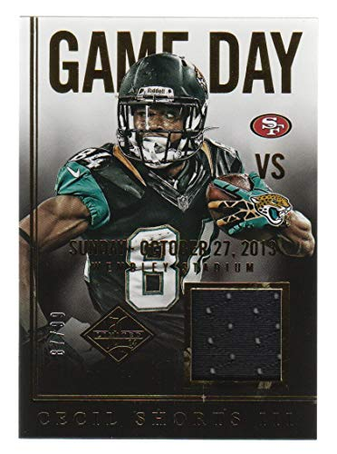 2014 Limited Football Game Day Jersey #37 Cecil Shorts III 87/99 Jacksonville Jaguars
