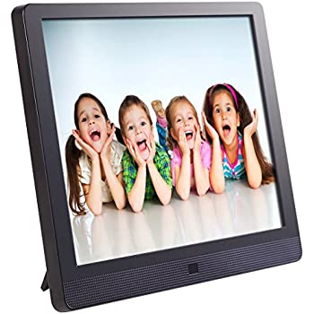 this item pix star 15 inch wi fi cloud digital photo frame fotoconnect xd with email online providers iphone android app dlna and motion sensor black