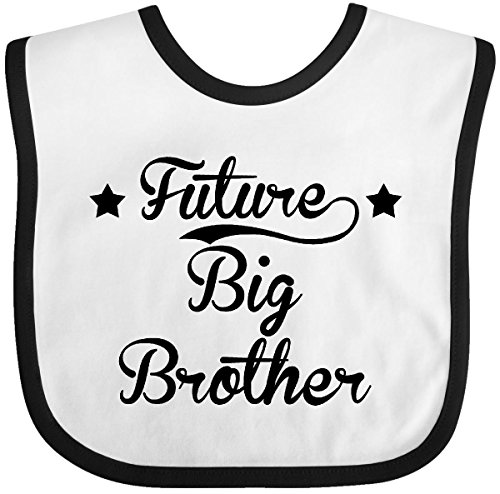 Inktastic - Future Big Brother Baby Bib White/Black 1c8eb ()