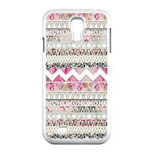 GGMMXO Aztec Tribal Shell Phone Case For Samsung Galaxy S4 i9500 [Pattern-1]