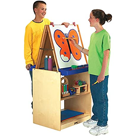 Jonti Craft 02891JC School Age 2 Station Art Center