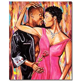 Amazon Com African American Black Couple Hold Me Close