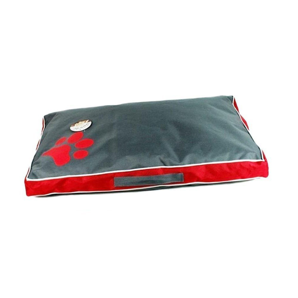 Red 85x55x8cm red 85x55x8cm WUTOLUO Pet Bolster Dog Bed Comfort Washable waterproof Big dog mat (color   Red, Size   85x55x8cm)