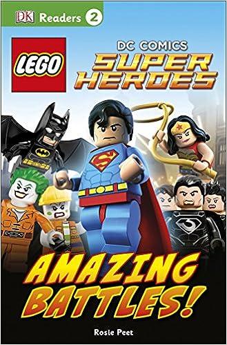 DK Readers L2: LEGO DC Comics Super Heroes: Amazing Battles!