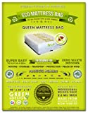 4 Queen Mattress Bags: Fits All Queen or Full Mattress Sizes (Compatible with ALL Pillow Tops and Box Springs). Ideal for Protecting Against Bed Bugs, Mites and Lice Infestations. Ideal for Moving, Storage and Transport. American Made From Recycled Plastic. Toughest Mattress Protection in the Usa!