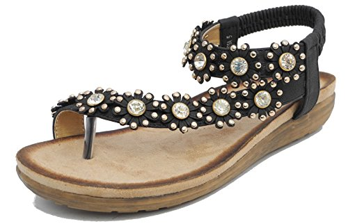 Boulevard - Sandalias de vestir de Material Sintético para mujer negro negro U147bkrS8