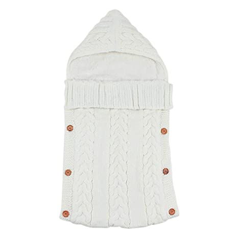 Qiao Nai Bebé Recién Nacido Swaddle Manta Wrap Bolsas de Dormir Infant Toddler Grueso Fleece de