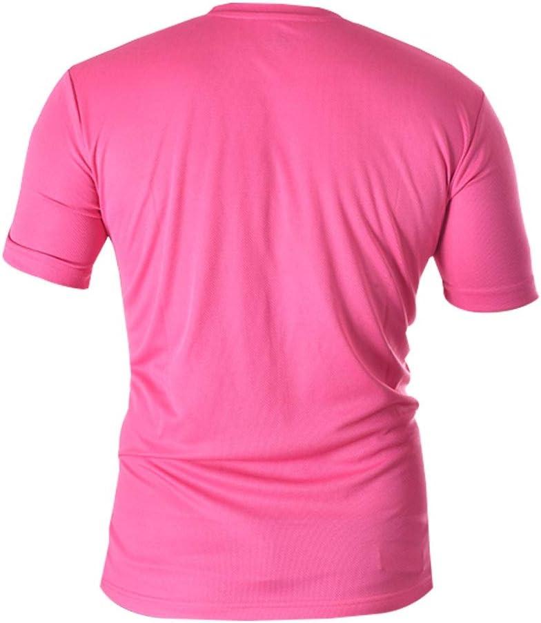 Siux Camiseta Tecnica Dry Fucsia Negro: Amazon.es: Deportes y aire ...