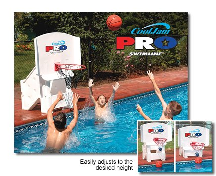 Blue Wave NT204 Cool Jam Pro Basketball (Basketball Regulation Rim Height)