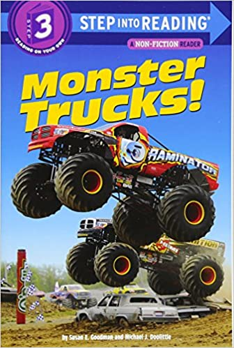 Amazon Com Monster Trucks Step Into Reading