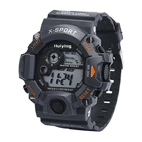 Find Discount Goddessvan Men's Quartz Digital Sports Watches LED Military Waterproof Wristwatch Watc...