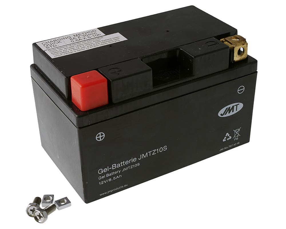 Batterie JMT GEL - YTZ10S 12 Volt [ inkl.7.50 EUR Batteriepfand ]
