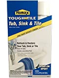 Homax 720771 32-Ounce Tub and Sink One-Part Spray-On Epoxy, White