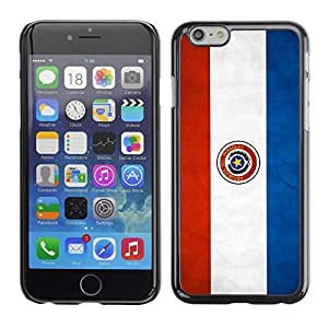 Graphic4You Vintage Paraguayan Flag of Paraguay Design Hard Case Cover for Apple iPhone 6