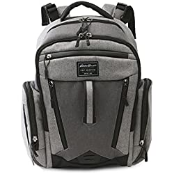 Eddie Bauer Back Pack Diaper Bag, Grey Heather