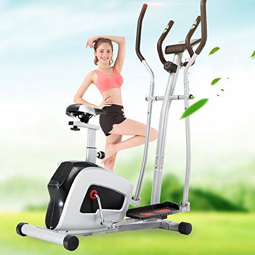 Wonlink 2 in 1 Elliptical Trainer Bike Exercise Machine Home