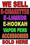 hookah vapor liquid - Business Poster Sign 24