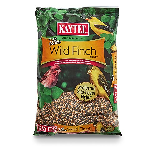 Kaytee Ultra Wild Finch Blend, 7-Pound Bag Pine Finch Feeder