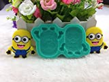 Luyou Classic DIY Despicable Me Minions Fondant Cake Molds Soap Chocolate Mould For The Kitchen Baking Silicone Mold FM721