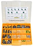 Delphi Weather Pack Connector Kit WP-155: Sealed Weatherproof Automotive Electrical Connectors 20-12 Gauge 155 Piece Kit