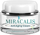 Miracalis - Best Face Cream Moisturizer With Advanced Anti Aging Wrinkle Formula. Clinically Proven To Reduce Wrinkle Depth, Smooth Fine Lines & Soften Skin. Cruelty Free, Hypoallergenic
