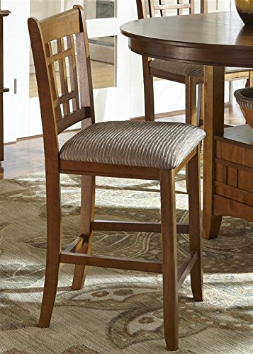 Liberty Furniture 25-BS8630 Santa Rosa Rub Dining Barstool, 19