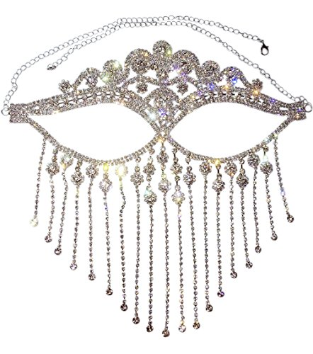 Astage Lady Cosplay Belly Dance Jewelry Coin Veil Halloween Accessories Crown Style -