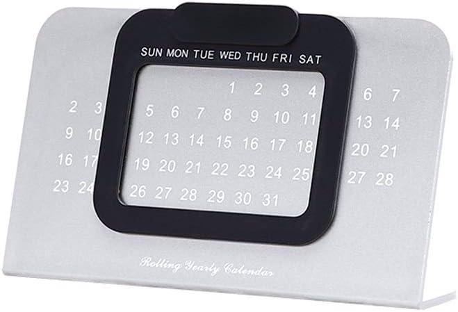 Calendario Calendarios de Escritorio Calendarios d Perpetua único escritorio ajustable Calendario de mesa Calendario de oficina Decoración del hogar Calendario Calendarios de Escritorio Calendarios d: Amazon.es: Hogar