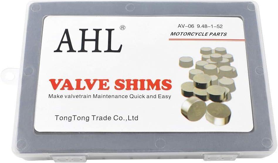 AHL 9.48mm 52pcs 1.20-4.00mm kit valve shim pastilles soupapes pour Arctic Cat DVX 400 2004-2008