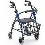 カワムラサイクル 【非課税】四輪歩行車 KW20 ブルー