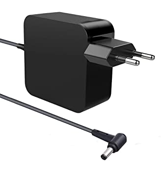New Pow 65W Fuente de Alimentación Delgada del Adaptador de CA del Cargador Portátil del Ordenador Portátil para ASUS F555 F555L F555LA F555UA F555U ...