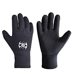 There's no better way to enter the water than with Skyone Wetsuits Diving Gloves, Wrap yourself in pure Comfort and Performance, it can be fitted and adjusted all size available for kids, men or women in S, M, L, XL, please choose the size ac...