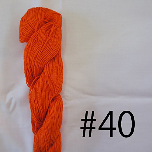 Sashiko Thread (Mono Color) (Orange - #40)