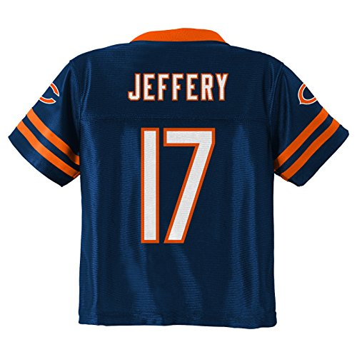 Outerstuff Alshon Jeffery NFL Chicago Bears Replica Home Jersey Infant Toddler (Toddlers Nfl Player Replica Jersey)