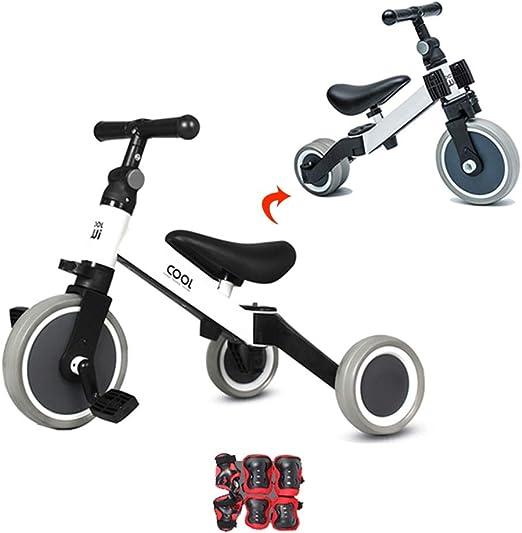 Bicicleta sin pedales Bici Baby Balance Bike para 1 2 3 años Niños ...
