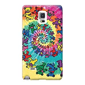 Bumper Hard Cell-phone Case For Sumsang Galaxy Note 4 With Provide Private Custom High Resolution Grateful Dead Series Aimeilimobile99
