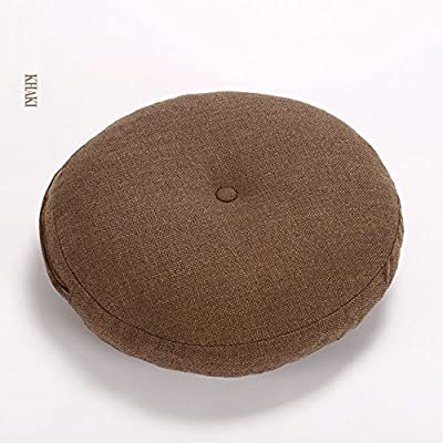 Amazon Com Sqinaa Round Extra Thick Chair Cushion Lumbar Support