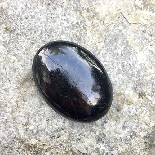 Sparkle Rock Pop Garnet Palm Stone - Natural Healing Gemstone - Energies Focus on Regeneration and Revitalization