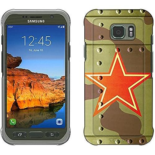 Samsung Galaxy S7 Active Case, Snap On Cover by Trek Soviet Air Force War Plane Fuselage Slim Case Sales