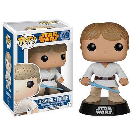 Skywalker Vinyl - Funko POP: Star Wars Luke Skywalker Tatooine Bobble Head Vinyl Figure