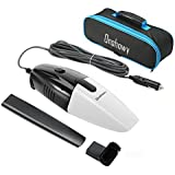 (Update Version)Car Vacuum Cleaner, Onshowy 12 Volt 75W Portable Handheld Auto Vacuum Cleaner Auto Lightweight Cleaner Dustbuster Hand Vac with 14.76FT(5M) Power Cord, with Carrying Bag