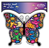 Grateful Dead Dancing Butterfly - Sticker / Decal