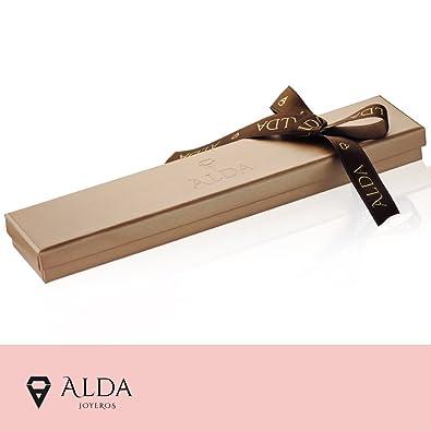 0d62b29f6889 Alda Joyeros Esclava bebé Oro 9 ktes - eslabón 3x1. Personalizable  Grabado  Gratuito.  Amazon.es  Joyería