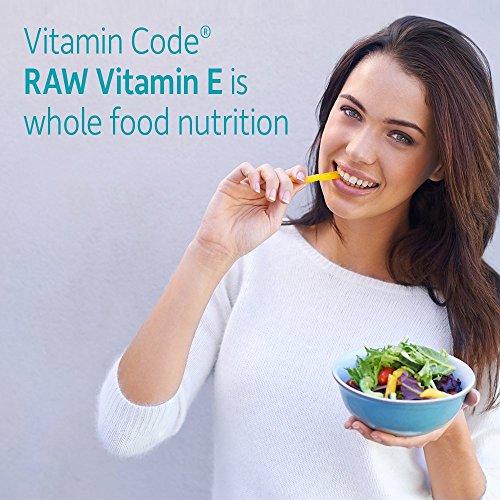 amazon com garden of life vitamin e vitamin code raw e vitamin 250 iu whole food supplement with a d k and selenium vegetarian 60 capsules health