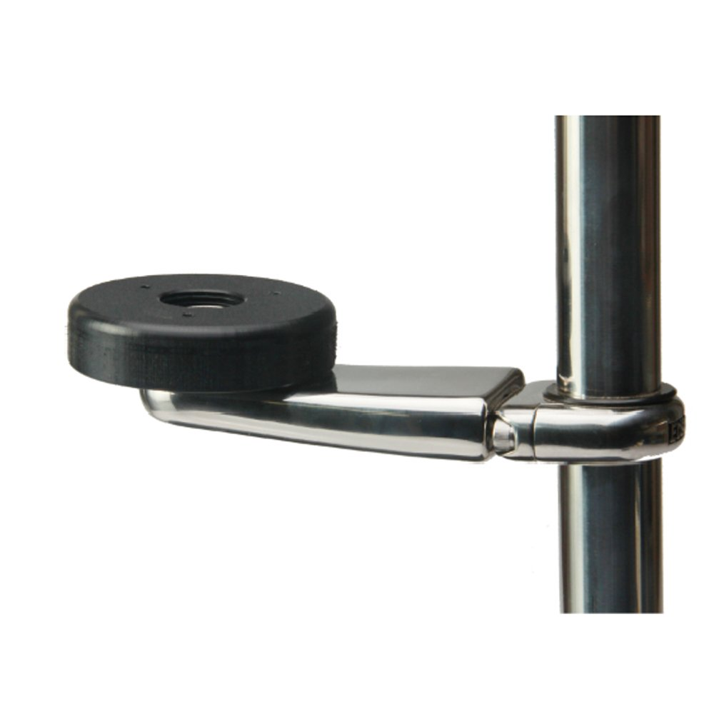 Edson Marine Stainless GPS Mount 3'' Mounting Base 1-1.25'' Rail 830ST-3-100-125 by EDSON CORPORATION